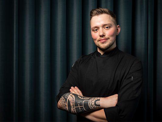 Küchenchef Alexander Knelle